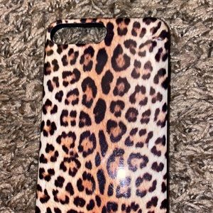 Leopard case for iPhone 7 Plus and 8 plus